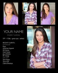 What Is A Comp Card 5 Zed Comp Card Design Preparing Your Headshot For Printing