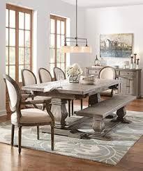 aldridge extendable dining table farmhouse dining table wood dining table rustic dining table the