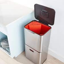 Joseph Joseph 9.5 gal./6.5 gal. Totem Trash & Recycling Bin | The Container  Store