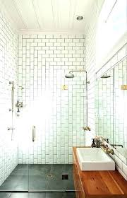 bathrooms with subway tile white subway tile with gray grout bathroom subway bathroom tile 4 bathroom