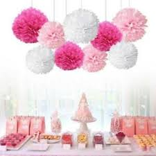 Tissue Paper Pom Poms Flower Balls Details About 2018 Tissue Paper Pompoms Pom Poms Flower Balls Fluffy Wedding Party Decoration