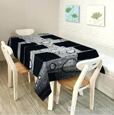 morn simplicity cocktail table cloth mesa many sign and size polyester material rectangle shape home use modern round tablecloth