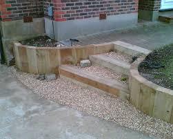 garden design using sleepers. eddieu0027s sloping garden project with railway sleepers photo 9 design using