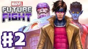 Marvel Future Fight - Gameplay Part 2 - Gambit, Nightcrawler, and Sentinel!  by ZackScottGames