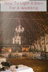 the best ideas on how to add lights to a barn so it can be the
