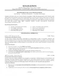 Resume Entry Level Cover Letter Example Pharmaceutical Sales