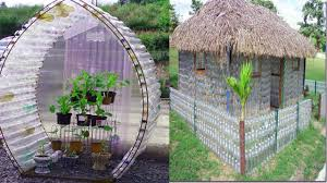 bottle house plans colonial floor greenhouse instructions creative ways reuse plastic best out waste modern recycled