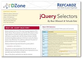 jquery cheat sheet 60 useful web developer cheat sheet collection