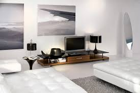 Small Picture Living Room White modern living room furniture compact brick