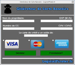 Pirater Logiciel Bancaire De - Carte Générateur