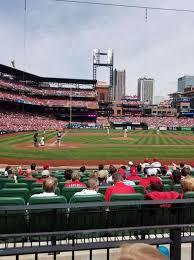 Busch Stadium Section 146 Home Of St Louis Cardinals