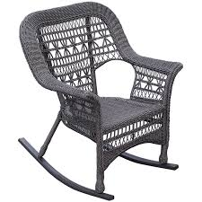 wicker rocking chair. Grey Wicker Rocking Chair