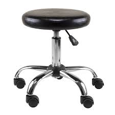 winsome clark round cushion swivel stool with adjustable height