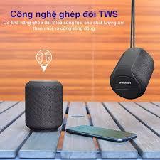 Loa Bluetooth Tronsmart Element 5.0 IPX6 trống nước ngoài trời, 15W chơi  nhạc tối đa 24 giờ dùng cho điện thoại máy tính bảng... Tronsmart Element  T6 Mini - TM-364443
