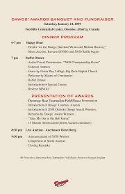 Banquet Program Examples Best Photos Of Awards Banquet Agenda Template Awards