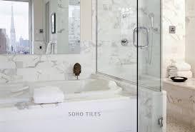 bathroom calacatta marble
