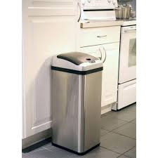 winsome motion sensing touchless trash can