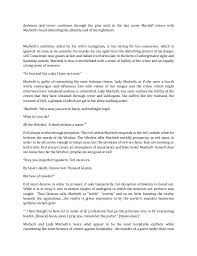 macbeth critical essay co macbeth critical essay