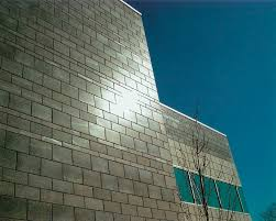 solid concrete block for load bearing walls exposed reflective series