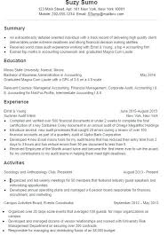 Student Resume Examples Little Experience College Student Resume