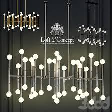 Люстра meurice rectangular chandelier jonathan adler