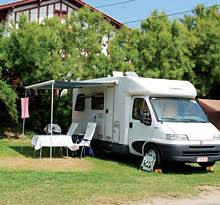 motorhome csites in france