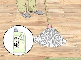 using a liquid cleaner image led clean engineered hardwood floors step 6
