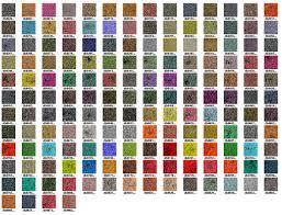 Bead Color Chart Miyuki Delica Seed Bead Color Chart Seed Bead Jewelry