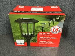 Smartyard Small Led Pathway Lights 6 Pack Alpan Smartyard Solar Led Pathway Walkway Lights 6 Pack M75b C
