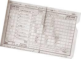 Baseball Game Scorecard Perfect Games Perfectos Thrown In Baseball History