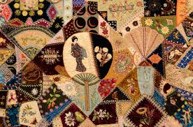 Extraordinary Victorian Crazy Quilt For Sale at 1stdibs & Extraordinary Victorian Crazy Quilt 3 Adamdwight.com