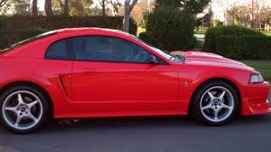SOLD 2000 Mustang SVT Cobra R Coupe Red - YouTube