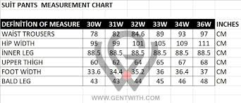 Suit Pants Size Chart Beltin Black Slim Fit Suit
