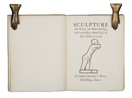 sculpture an essay on stone cutting a preface about god  sculpture an essay on stone cutting a preface about god by