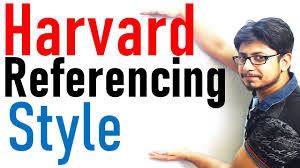 Harvard Referencing Tutorial