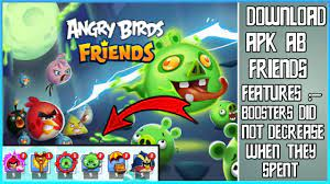 AB FRIENDS ( ANGRY BIRDS FRIENDS ) MOD APK || UNLIMITED BOOSTERS || MOD  APPS AND GAME |