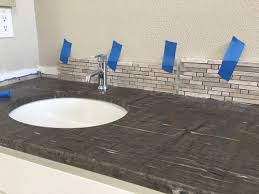 bathroom vanity backsplash height