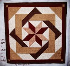 Best 25+ Quilted wall hangings ideas on Pinterest | Mini quilts ... & Marty's Fiber Musings: It's quilted and it's a simple half square triangle  design: A · Wall Hanging QuiltsQuilted ... Adamdwight.com