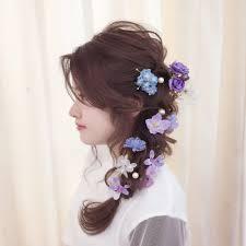 まるでプリンセスアニメイラストの髪型を真似する女子が急増中hair