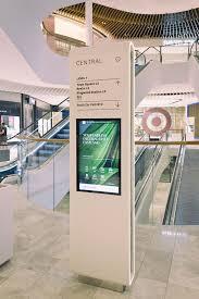 Hospital Kiosk Design Eastland Wayfinding And Signage On Behance Signage Design