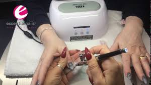 Nail Art - Airbrush Ombre - Tutorial By Kerry Benson - YouTube