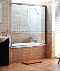 sliding shower door bottom track tub shower doors shower doors and shower enclosures sliding shower doors
