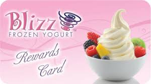 Blizz Yogurt Blizz Frozen Yogurt Get Blizzed