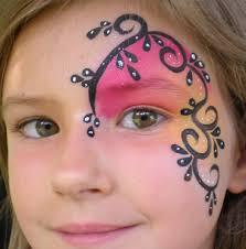 elsa crown frozen snow princess face painting design