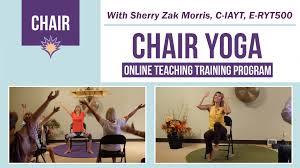 chair yoga teacher program
