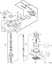 Jet pump assembly for mariner mercury 100 115 125 hp 80 jet 4 cylinder