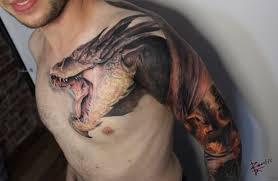 эпичная татуировка