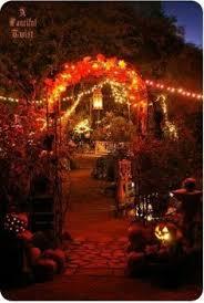 halloween lighting. cool idea for outdoor halloween time wedding just lights got my attention lighting