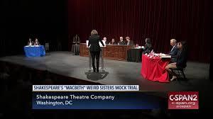 ruth bader ginsburg presides shakespeare theatre company mock  ruth bader ginsburg presides shakespeare theatre company mock trial jun 19 2017