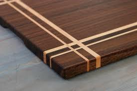 Cutting Board Patterns Adorable Walnut Maple Wood Cutting Board Or Serving Board In A Striped